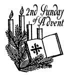 Image result for second sunday of advent black and white images